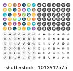 service icons set | Shutterstock .eps vector #1013912575