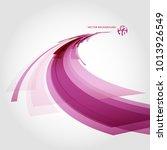 abstract vector background... | Shutterstock .eps vector #1013926549