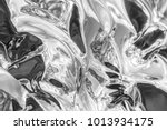 curved abstract metallic... | Shutterstock . vector #1013934175