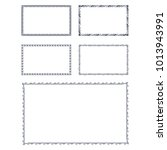 victorian border vector | Shutterstock .eps vector #1013943991