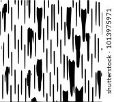 grunge halftone black and white ... | Shutterstock .eps vector #1013975971