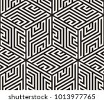 vector seamless pattern. modern ... | Shutterstock .eps vector #1013977765