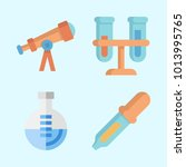 icons about science with...   Shutterstock .eps vector #1013995765