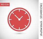 clock vector icon. time is a... | Shutterstock .eps vector #1014001561