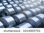 cold rolled steel coil at... | Shutterstock . vector #1014005701