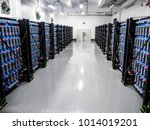 battery room in power plant | Shutterstock . vector #1014019201