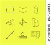 science linear icon set. simple ...   Shutterstock .eps vector #1014025555