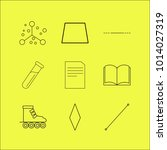 science linear icon set. simple ...   Shutterstock .eps vector #1014027319