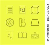 science linear icon set. simple ...   Shutterstock .eps vector #1014027325