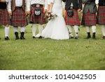 wedding in the scottish style | Shutterstock . vector #1014042505