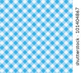 blue and white gingham cloth... | Shutterstock .eps vector #101404867