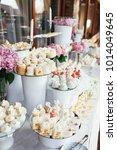 wedding candy bar rich served... | Shutterstock . vector #1014049645