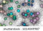 light colored vector template... | Shutterstock .eps vector #1014049987