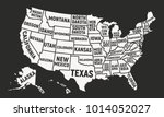 united states of america map... | Shutterstock .eps vector #1014052027
