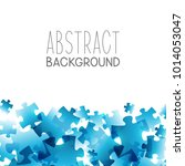 abstract background with blue... | Shutterstock .eps vector #1014053047