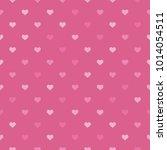 heart pink background  sweet... | Shutterstock .eps vector #1014054511