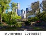 central park and manhattan... | Shutterstock . vector #101405884