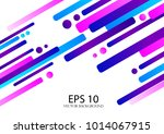 abstract background  flat lines ... | Shutterstock .eps vector #1014067915