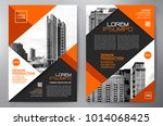 business brochure. flyer design.... | Shutterstock .eps vector #1014068425