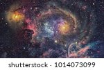 Galaxy Nebula Abstract Space Background - Fine Art prints