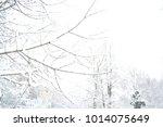 russian nature  winter forest... | Shutterstock . vector #1014075649