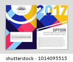 abstract vector layout... | Shutterstock .eps vector #1014095515