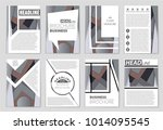 abstract vector layout... | Shutterstock .eps vector #1014095545