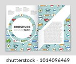 abstract vector layout...   Shutterstock .eps vector #1014096469