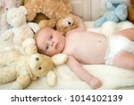 childhood and curiosity concept.... | Shutterstock . vector #1014102139