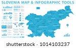 slovenia map   detailed info... | Shutterstock .eps vector #1014103237