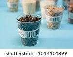 seeds of agricultural plants in ... | Shutterstock . vector #1014104899