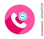 button cancel handle handset... | Shutterstock .eps vector #1014107125