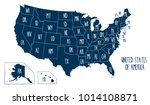 hand drawn vector map of the... | Shutterstock .eps vector #1014108871
