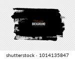 black grunge banner on... | Shutterstock .eps vector #1014135847