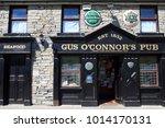 doolin  ireland     july 20 ...   Shutterstock . vector #1014170131
