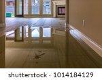 family house in houston suburb... | Shutterstock . vector #1014184129