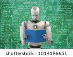3d rendering humanoid robot... | Shutterstock . vector #1014196651