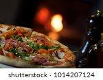 Crispy Italian Pizza Right Out...