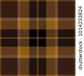 Brown Tartan Plaid Scottish...