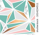 vector marble texture design... | Shutterstock .eps vector #1014234511