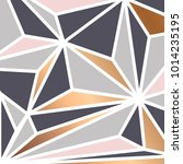 geometric background with... | Shutterstock .eps vector #1014235195
