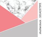 vector marble texture design... | Shutterstock .eps vector #1014237595