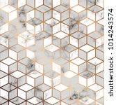 vector marble texture  seamless ... | Shutterstock .eps vector #1014243574