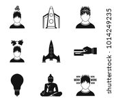 leadership role icons set....   Shutterstock .eps vector #1014249235