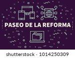 conceptual business...   Shutterstock . vector #1014250309