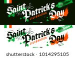 st. patrick's day celebration...   Shutterstock .eps vector #1014295105