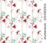 summer seamless pattern with...   Shutterstock . vector #1014302521