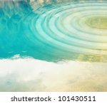 water with ripples in natural... | Shutterstock . vector #101430511