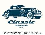 vintage car t shirt design...   Shutterstock .eps vector #1014307039