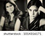 teenage problems   defiant... | Shutterstock . vector #1014316171